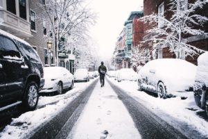 straße-schneeschieber