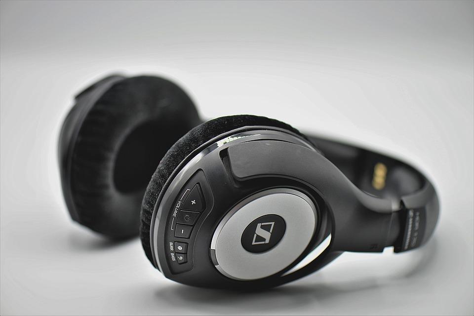 Headset schwarz grau für Gamer