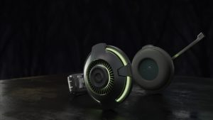 Headset schwarz