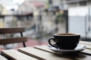Tamperstation für die Espressomaschine