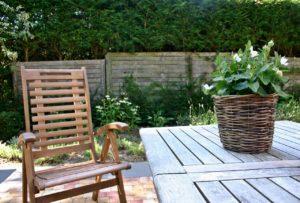 Schwingsessel für Garten