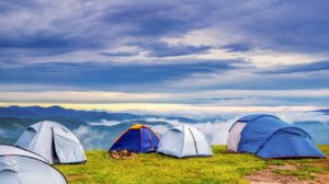 Zelte am Anhang