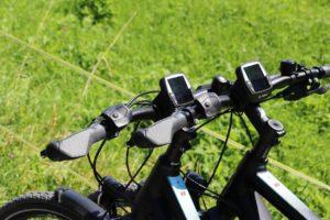 E Bike bis 1.500€ von oben, Lenker mit Display