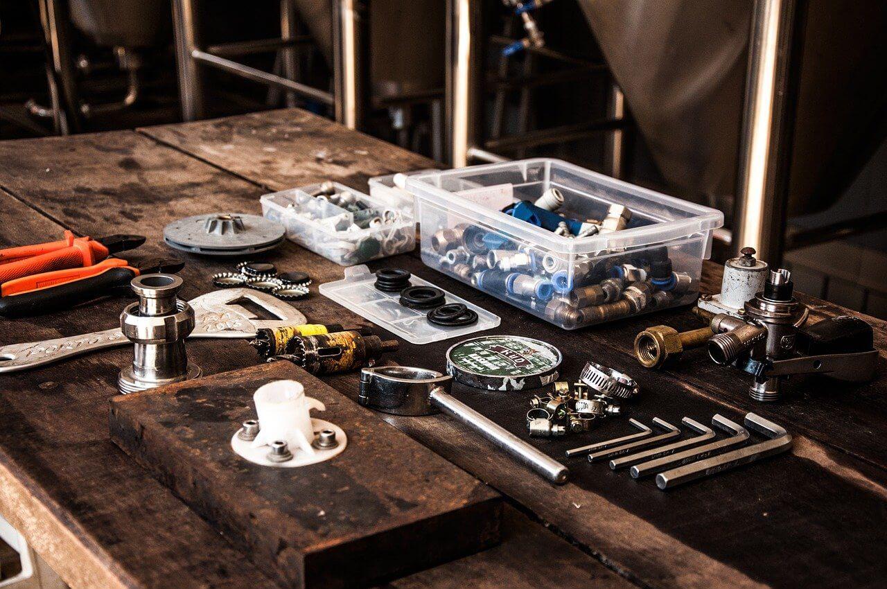 Werkzeug ohne Werkzeugrucksack ist oft chaotisch