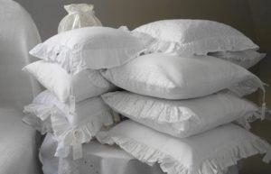 Couch Kissen XXL in weiß