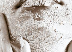 Vorbereitung zum Verwenden eines Skin Scrubber
