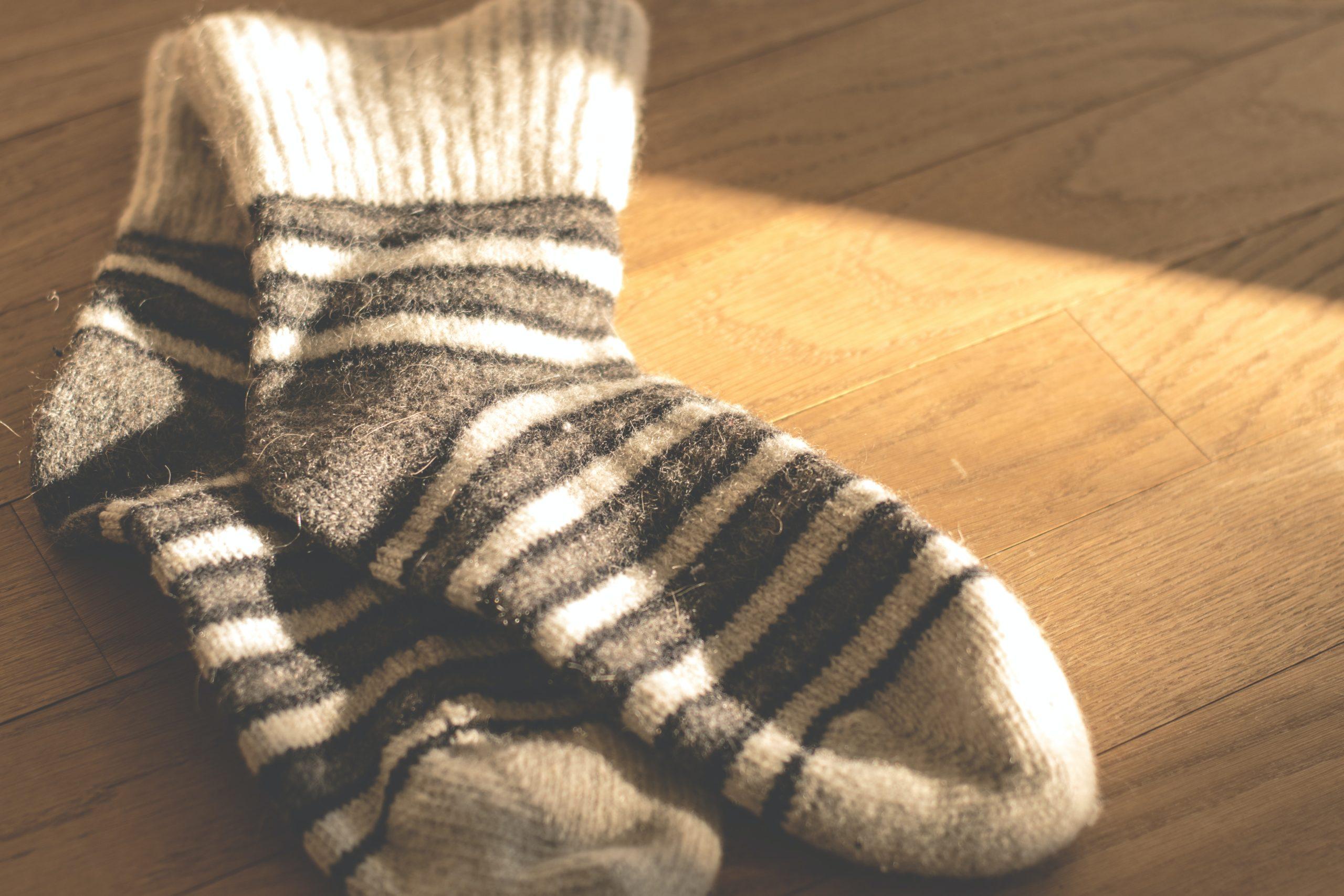 Socken die nicht gestopft werden müssen